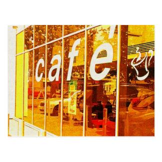 Cafe Life Postcard