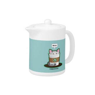 Café lindo del gato