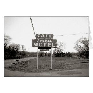 Cafe Loveless Nashville Tennessee Card