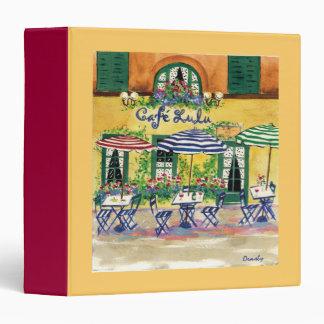 Cafe Lulu-binder Binder