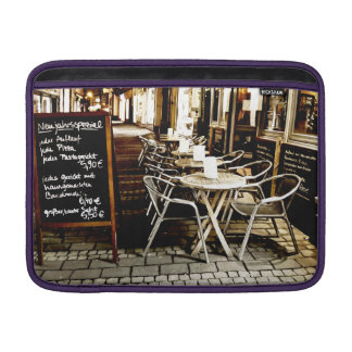 cafe MacBook sleeve
