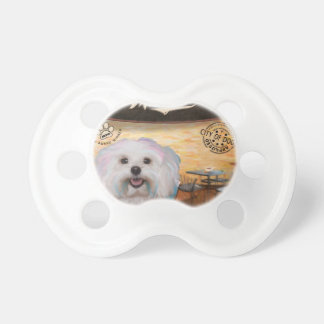 Cafe Maltipoo Pacifiers