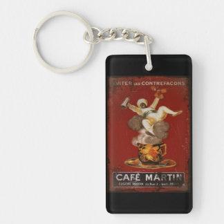 Cafe Martin Coffee Genie Keychain
