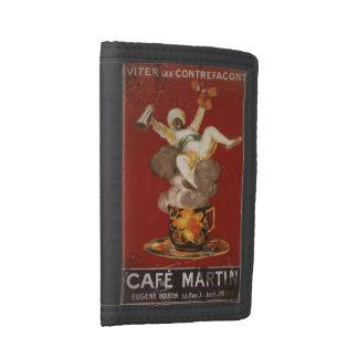 Cafe Martin Coffee Genie Tri-fold Wallet