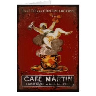 Cafe Martin Genie Card