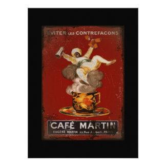 Cafe Martin Genie Personalized Invitation