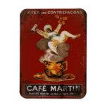 Cafe Martin Genie Vinyl Magnets