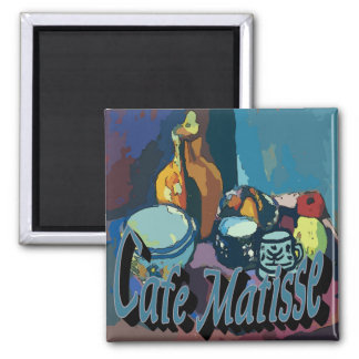 Cafe Matisse Poster Coffee Stand Magnet