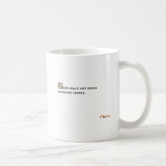 Café mediocre de la bebida del shalt de mil no tazas