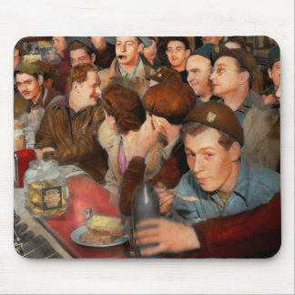Cafe - Midnight Munchies 1943 Mouse Pad