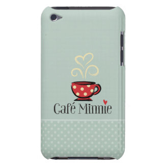 Café Minnie Barely There iPod Carcasa