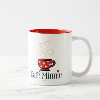 Café Minnie Taza Dos Tonos
