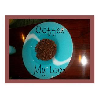 Café mis postales de las ideas del regalo de