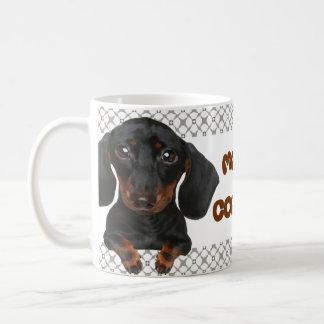 ¡Café Mmm de la taza el | del Dachshund…!