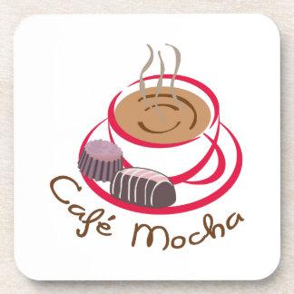 CAFE MOCHA DRINK COASTERS