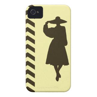 Café Mocha Cream Neutral Chevrons Fashion Case-Mate iPhone 4 Cases