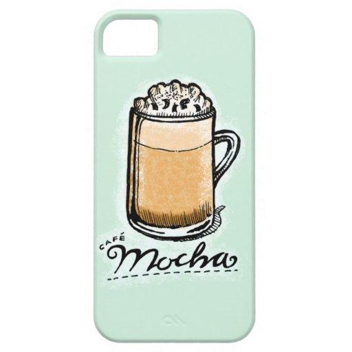 Cafe Mocha Sketchnote iPhone 5 Cover