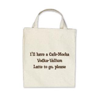 Cafe-Mocha Vodka-Valium Latte Bags