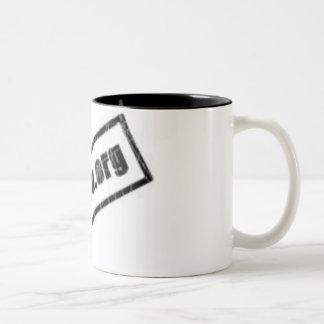 ¡Café Modelo Reevil de Tasa para! Taza De Dos Tonos