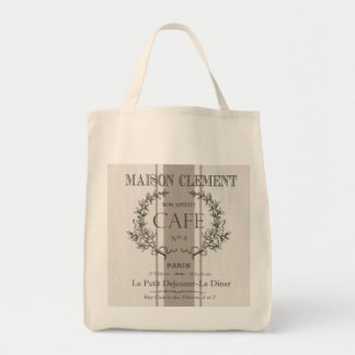 café moderno del francés del vintage bolsas