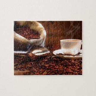 Café molido fresco puzzle