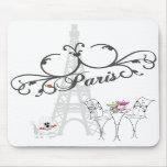 Café Mousepad de París Alfombrillas De Raton