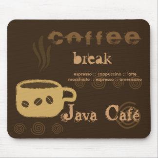 Café Mousepad Alfombrilla De Raton