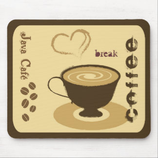 Café Mousepad Alfombrilla De Ratón