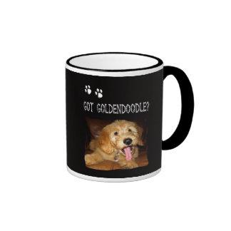 ¿Café Mug~~~Got Goldendoodle? Taza De Dos Colores