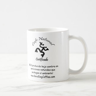 Cafe Natural Certificado, Natural Coffee Certified Classic White Coffee Mug