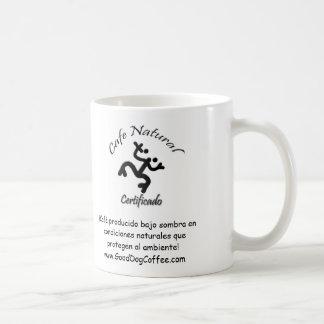 Cafe Natural Certificado Natural Coffee Certified Mug