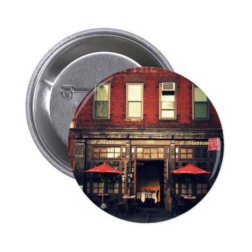 Cafe - New York City Pin