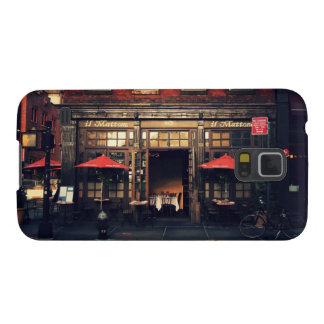 Cafe - New York City Case For Galaxy S5
