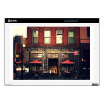"""Cafe - New York City Decal For 17"""" Laptop"""