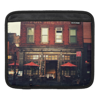 Cafe - New York City Sleeves For iPads