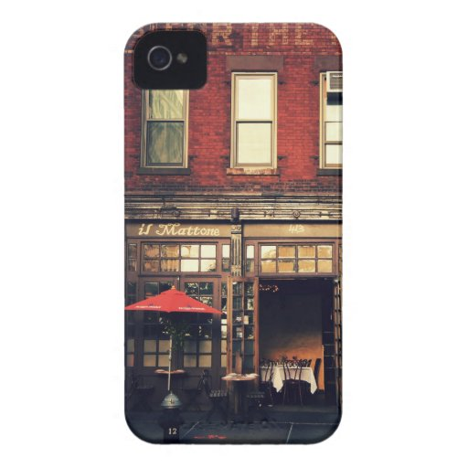 Cafe - New York City iPhone 4 Cases