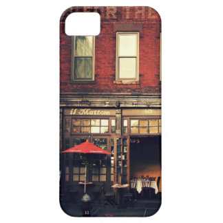 Cafe - New York City iPhone SE/5/5s Case