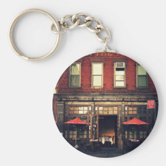 Cafe - New York City Key Chain