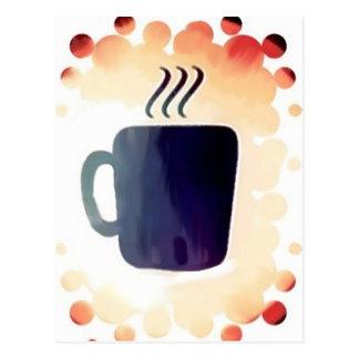 Café:  No está apenas para el desayuno Postal