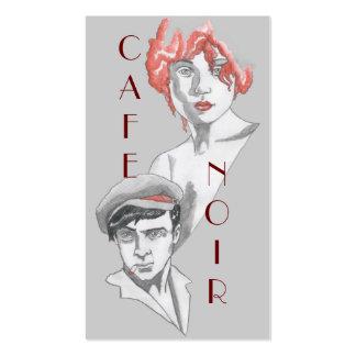 Café Noir Tarjetas De Visita