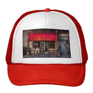 Cafe - NY - Chelsea - Mappamondo Trucker Hat