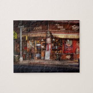 Café - NY - Chelsea - Tello Ristorante Rompecabezas Con Fotos