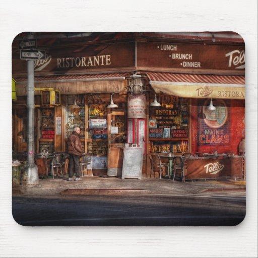 Café - NY - Chelsea - Tello Ristorante Tapete De Ratones