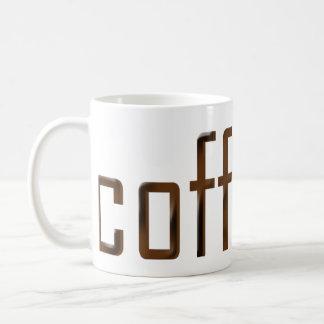 ¡Café! ¿O es? Tazas