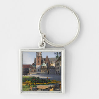 Cafe overlooking Wawel Cathedral, Wawel Hill, Keychain