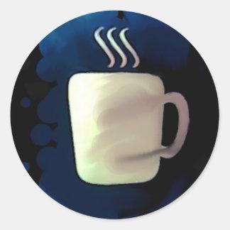 Café:  ¡Para cada ocasión! Pegatina Redonda