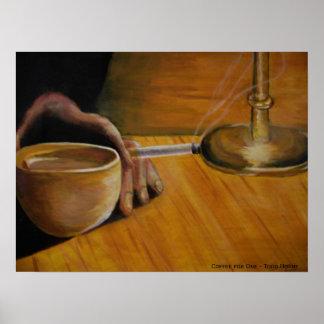 Café para uno posters