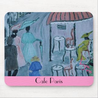 Cafe Paris, 1978 by Austrian artist Inge Mouse Pad