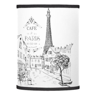 Cafe Paris Lamp Shade