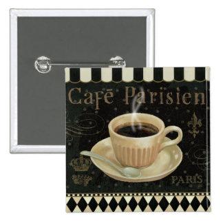 Cafe Parisien Button